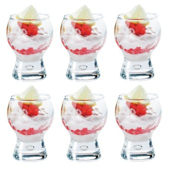 Harga Shot Glass / Bar Glass / Appetizer Glass / Dessert Glass 50ml Set of 6 Glassware