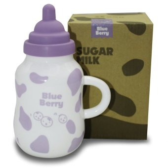 Home Essentials Sugar Milk Coffe Mug with Rubber Cover (Blue Berry) Price Philippines