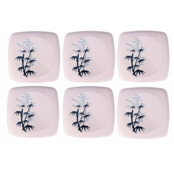 Harga SHOP AND THRIFT 1227 BAMBOO PLATE 6PCS