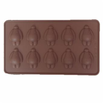 Harga Baymax Silicone Chocolate Mould