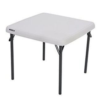 Harga Lifetime Childrens Folding Table 24x24 (White Granite)