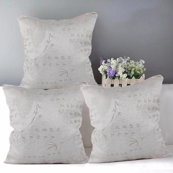 "Home Essentials TPC 38 Wesley Collection 16"" x 16"" Throw Pillow Case Set of 3 Price Philippines"