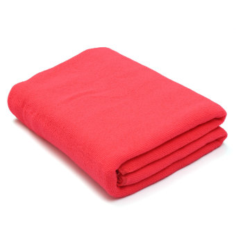 Absorbent Microfiber Towel Bath Quick Drying Washcloth Bath Dark Pink Price Philippines