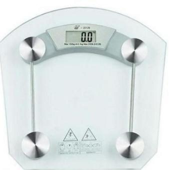 Harga Square Glass Digital Weighing Scale
