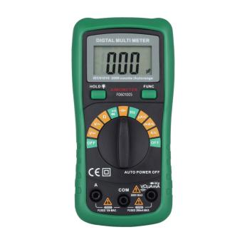 Harga Auto Range Digital Multimeter AC DC Frequency Resistance Tester - intl