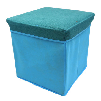 Ottoman Storage Box (Light Blue) Price Philippines