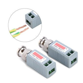2pcs/lot HD-CVI/TVI/AHD/CVBS 4 in 1 CCTV Video Balun Passive Transceivers - intl Price Philippines