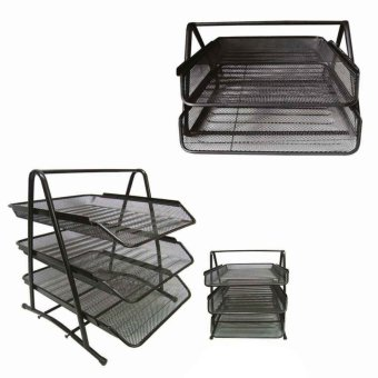 Metal Tray 2 Layer and 3 Layer (Black) Price Philippines