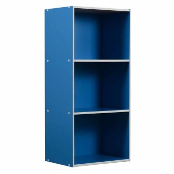 Harga Tailee Furniture ST-300BF 3-Layer Utility Cabinet Organizer (Blue)