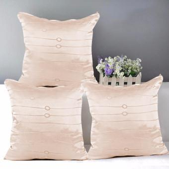 "Home Essentials TPC 56 Wesley Collection 16"" x 16"" Throw Pillow Case Set of 3 Price Philippines"