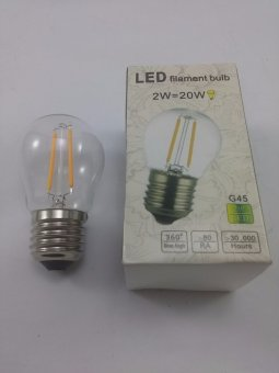 Harga Big Lite LED Filament Bulb G45 2W WW E27 Modern Lighting
