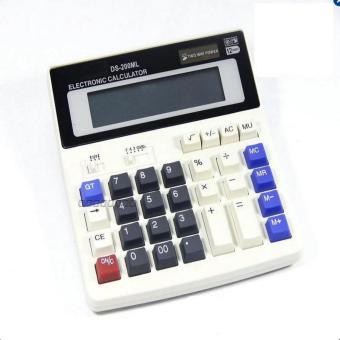 Harga CST Office calculator Large computer keys DS-200ML computer Solar Calculator