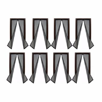 Magic Mesh Instant Screen Door - Set of 8 (Black) Price Philippines
