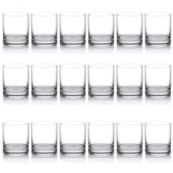 Harga Ocean Glassware Rock Tumbler 10oz Set of 18 (B-0710)