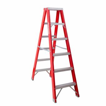 Kruger Fiberglass Double Side Ladder, F32106 (2x6 Steps) Price Philippines