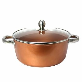 Masflex 24cm Copper Forged Casserole with Lid Price Philippines