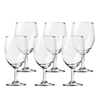 Harga Ocean Glassware 354ml Classic Water Goblet Set of 6 (Clear) (1501G12)
