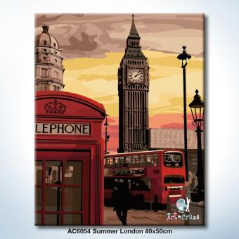 Harga Art Craze Summer London Paint by Numbers