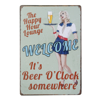 20x30cm Vintage Metal Tin Sign Plaque Wall Art Poster Cafe Bar Pub Beer #7 Price Philippines