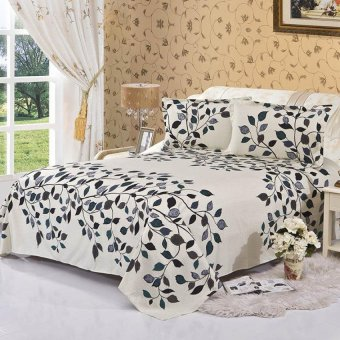 Hotsale Bedsheet Bedspreads -34# Leaf - intl Price Philippines