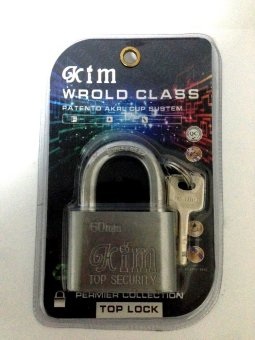 Harga Kim YB60mm Top Security Padlock