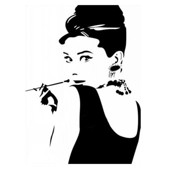 Audrey Hepburn DIY Removable Vinyl Wall Stickers Decal Art Home Decor Mural Price Philippines