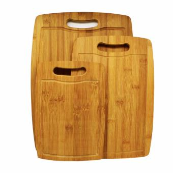 3pcs. Culinary Non-Microbial Bamboo Chopping Board Price Philippines