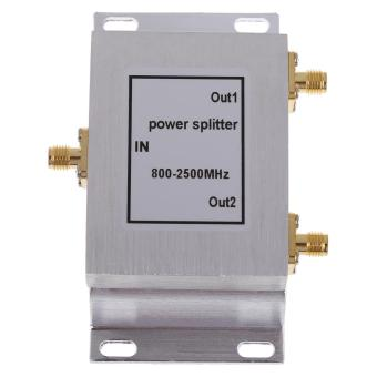 2-Way SMA-Type Power Divider Splitter 800-2500MHz for GSM CDMA 3G Booster - Intl Price Philippines