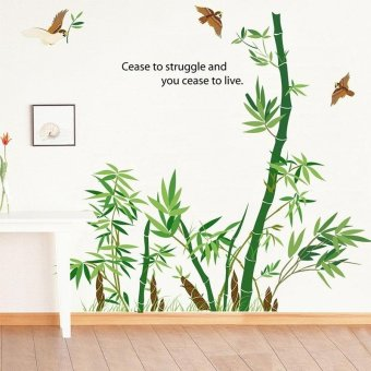 Removable Bamboo Wall Sticker Home Decor Art Decoration Mural Decal Vinyl Bamboo - intl Price Philippines