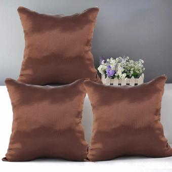"Home Essentials TPC 18 Wesley Collection 16"" x 16"" Throw Pillow Case Set of 3 Price Philippines"