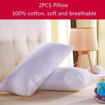 Harga Rising Star 2PCS Cotton Fiber Magic Pillow 70 x 40CM