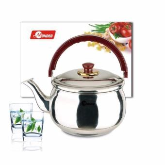 Harga SHOP AND THRIFT Mondeo z 4.0 Whistling Kettle Original Stainless Steel