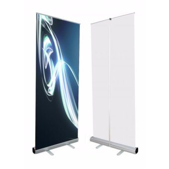 "Economy 24""x60"" Adjustable Height Retractable Roll up Banner Stand Trade Show Sign Holder Price Philippines"