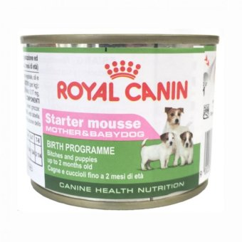 Harga Royal Canin Starter Mousse Puppy Food (195 Grams)