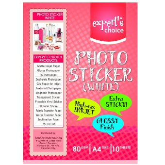 Sticker Photopaper Expert's Choice Price Philippines