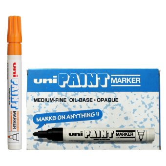 Uni Paint Marker (Orange) Pack of 6 Price Philippines