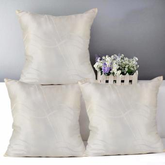 "Home Essentials TPC 28 Wesley Collection 16"" x 16"" Throw Pillow Case Set of 3 Price Philippines"