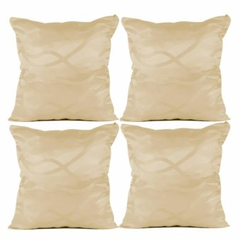 "Home Essentials Horchata Frappu 16"" x 16"" Throw Pillow Case Set of 4 Price Philippines"