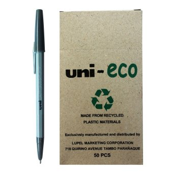 Uni Ballpen Eco (Black) Pack of 50 Price Philippines