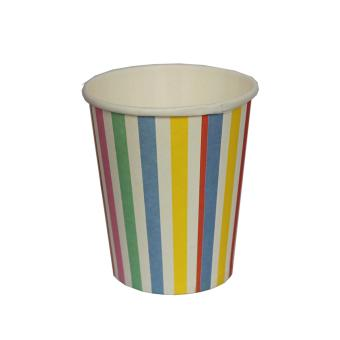 Harga Paper Cups (Rainbow Vertical Stripes)