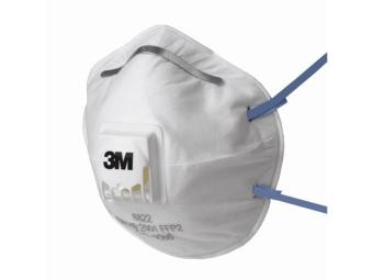 8822 Comfort Valved Dust Mask Respirator FFP2 Box of 10 masks Price Philippines