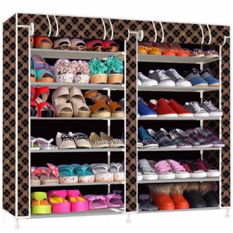 K66 Shoe Cabinet (Chocolate) Price Philippines