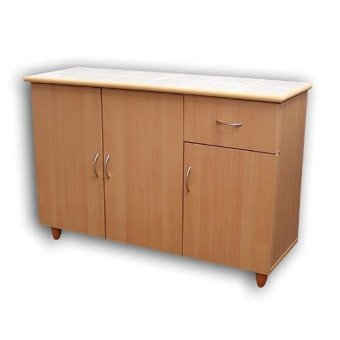 MyHomeIFC BUC0099 Kitchen Cabinet / Buffet Cabinet (Cherry) Price Philippines