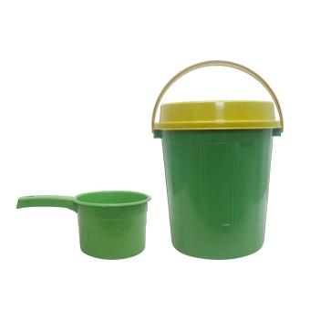 Harga Oriental Pail w/c 445 Green w/ Yellow Cover Set of Water Dipper 901 710592 W34