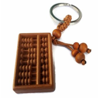 Harga Be Lucky Charms Feng Shui Abacus Wealth Catcher Keychain