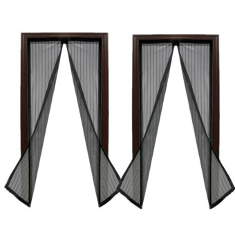 Magic Mesh Instant Screen Door (Black) Set Of 2 Price Philippines