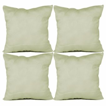 "Home Essentials Lustrous Punch 16"" x 16"" Throw Pillow Case Set of 4 Price Philippines"
