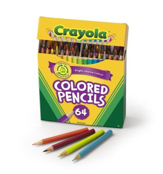 Crayola 64 Ct Short Colored Pencils Kids Choice Colors Price Philippines