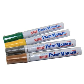 Alteco Paint Markers in 4 Colors Set Price Philippines