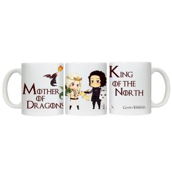 Harga CopyCut Couple Cute Inspirational Statement Mug Game of Thrones Khaleesi John Snow - Gift Set